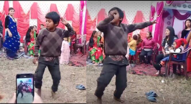 यति सानो बाबुको यति राम्रो नाच, हेर्ने सबै चकित (भिडियो सहित)