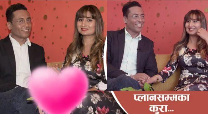 बिवाह पछी गायिका अन्जु पन्त र थीर एकसाथ मिडियामा , यसरी बताए आफ्नो प्रेम काहानी (भिडियो)