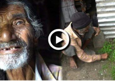 खान अन्न छैन, घाँस खाएर छाक टार्ने अबस्था देखियो, घरमा एक्लो ७५ बर्षिय बृद्ध बुवाको यस्तो हरिबिजोग (हेर्नुहोस् भिडियो )