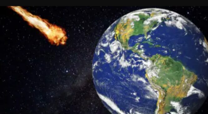 विशाल एस्टोरोइड २२ हजार किलोमिटर प्रतिघण्टाको गतिमा पृथ्वीतर्फ आउदै..