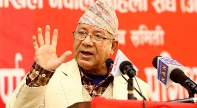 'केपी ओलीले यी चार वटा काम गरे म एमालेमा फर्कन सक्छु'- माधव नेपाल