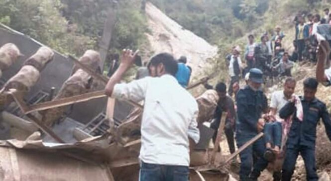 आज भएको मुगु बस दु, र्घटना अपडेट: चालकसहित ३२ को मृ, त्यु