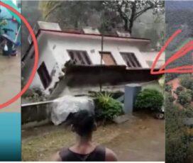 भिषण वर्षाले मच्चायो वि, तण्डा हेर्दा-हेर्दै ढल्यो घर , २७ जनाको मृ, त्यु (भिडियो हेर्नुस्)